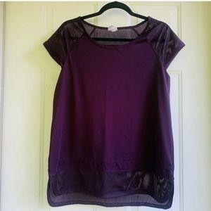 Champion Short Sleeve Mesh Inserts T-Shirt Size M